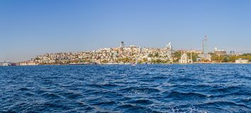 Istanbul Ortakoy district Royalty Free Stock Photos