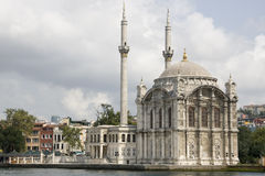 Istanbul - Ortaköy Mosque on the Bosphorus Stock Photos