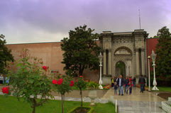 Istanbul Palace  entryway Stock Photo