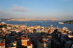 Istanbul Panorama Royalty Free Stock Photos