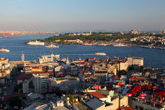 Istanbul panorama Royalty Free Stock Photos