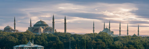 Istanbul Panorama Stock Photo