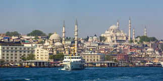 Istanbul panorama Royalty Free Stock Photo