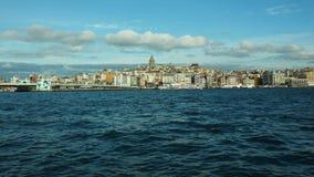 Istanbul panorama Turkiet Arkivfoton
