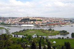 Istanbul panorama Stock Photography