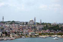 Istanbul panoramic view Stock Images
