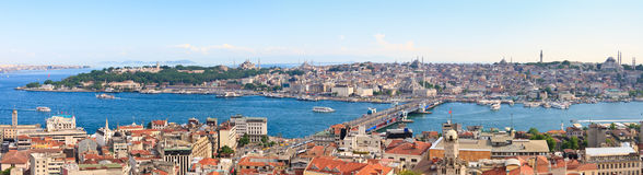 Istanbul Panoramic View Royalty Free Stock Images