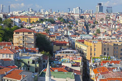 Istanbul. Panoramic View Stock Images