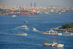 Istanbul. Panoramic View Royalty Free Stock Image