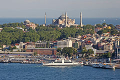 Istanbul. Panoramic View Stock Photo
