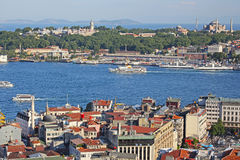 Istanbul. Panoramic View Stock Photography