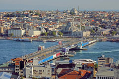 Istanbul. Panoramic View Royalty Free Stock Photo
