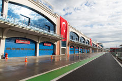 Istanbul Park Racing Circuit stock photo