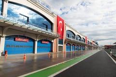 Istanbul Park Racing Circuit Stock Photo
