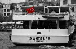 Istanbul passenger Royalty Free Stock Photography