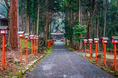 Hiyoshi Taisha Royalty Free Stock Photography