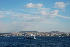 Istanbul Bosphorus ferry Royalty Free Stock Photo