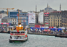 Istanbul port, Turkey Royalty Free Stock Image