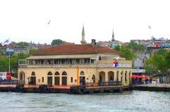 Kadikoy passenger boats station,Istanbul royalty free stock image