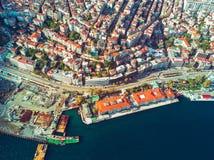istanbul powietrzny widok Zdjęcie Royalty Free