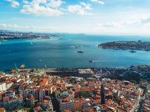istanbul powietrzny widok Fotografia Royalty Free