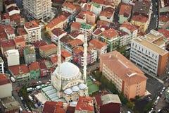 istanbul powietrzny widok stare miasto Obrazy Royalty Free