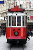 Istanbul Tram. Istanbul traditional tram Stock Photo