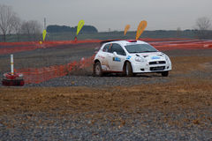 Istanbul Rally Championship 2010 Stock Photos