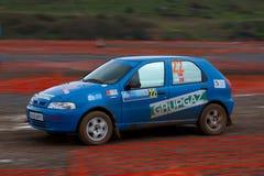 Istanbul Rally Championship 2010 Royalty Free Stock Photo