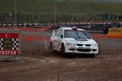 Istanbul Rally Championship 2010 Stock Image