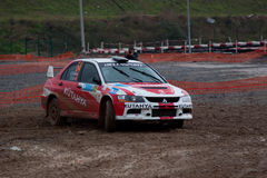 Istanbul Rally Championship 2010 Royalty Free Stock Images