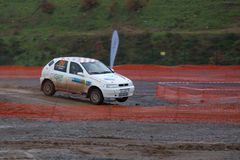 Istanbul Rally Championship 2010 Stock Photo
