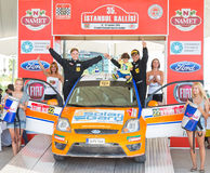 35. Istanbul Rally Royalty Free Stock Photo
