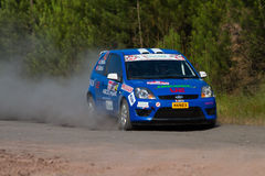 35. Istanbul Rally Royalty Free Stock Images
