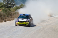 35. Istanbul Rally Stock Photography
