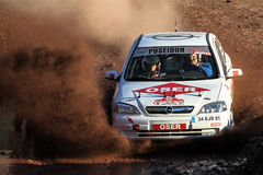 Istanbul Rally 2015 Stock Photography