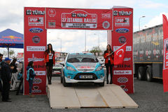 Istanbul Rally 2016 Royalty Free Stock Photography