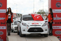 Istanbul Rally 2016 Royalty Free Stock Image