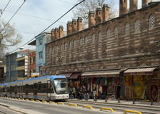 Istanbul rapid transport system - Turkey Royalty Free Stock Photo
