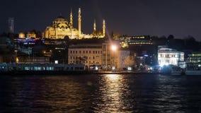 istanbul resa, kalkon, Europa, gränsmärket, ottomanen, turk, historiskt som är forntida, arkitektur som är berömd, tornet, stad lager videofilmer