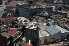 Istanbul roofs Royalty Free Stock Photos