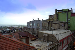 Istanbul roofs Royalty Free Stock Image