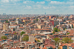 Istanbul rooftops Royalty Free Stock Image
