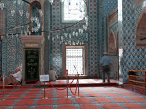 Istanbul - Rustem Pasha Mosque interior Royalty Free Stock Photos