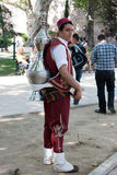 istanbul säljaretea Arkivfoton
