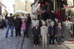 Istanbul - scènes de rue Photo libre de droits