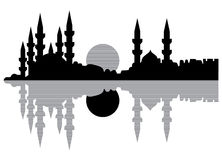 Istanbul-Schattenbild Stockbild