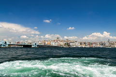 Istanbul sea front view Turkey. Stock Photo