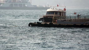 Istanbul /sea/people/december 2015. Istanbul  /december 2015 / istanbul HD 1080 stock footage