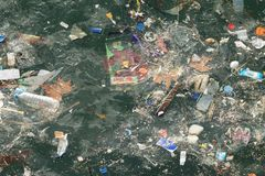 Free Istanbul Sea Pollution Stock Image - 117758471